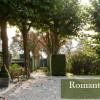 Romantische tuin op de hei