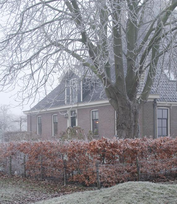 Winterse sfeer in en rond de oude stolpboerderij van J&A Interieurs 9 - Copyright © Brosisprod.nl