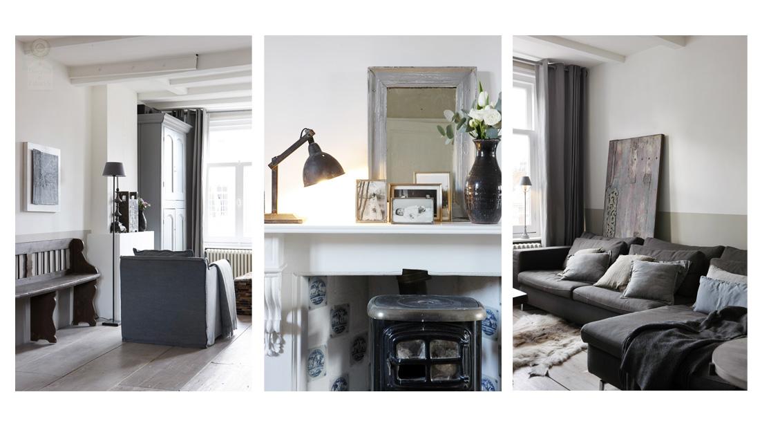 Landelijk en industrieel wonen interieur lifestyle for Decoratie industrieel