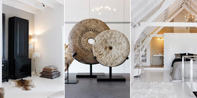 Wonen In Wit : Zwart en wit wonen interieur lifestyle decoratie brosisprod